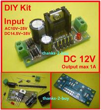AC/DC 15V~24V to 12V DC LM7812 Step-down Voltage Regulator Converter Power Kit
