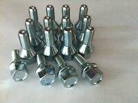 16 Radschrauben  M12 x 1,50 x 24 mm  Kegelbund 60°  Smart Fortwo Forfour W453