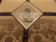 New Waterford Colleen Silver King Tailored Bed Skirt