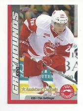 2015-16 Soo Greyhounds (OHL) Tim Gettinger (Hartford Wolf Pack)