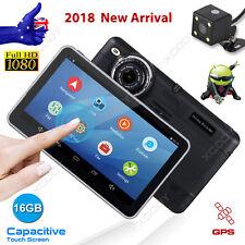 Dual lens 7'' HD 1080P Car Dash DVR GPS Navi Reversing Cam Video Camera Recorder