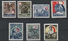 1944/ 45 TURKEY RED CRESCENT KIZILAY COMPLETE SET MNH OG LUX