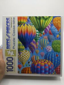 Bits and Pieces 1000pcs Balloon Festival Jigsaw Puzzle Complete in Box