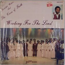 RANDOLPH WATSON, VOICES OF FAITH: Working for the Lord US Jewel Black Gospel LP