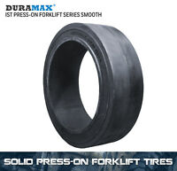21x7x15 Duramax IST Smooth Solid Press On Forklift Tire 21x7-15 (1 Tire)