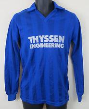 Retro Saller Football Shirt Soccer Jersey Vtg Trikot Maglia Blue Camisa Large L