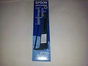 GENUINE ORIGINAL EPSON RIBBON CARTRIDGE #7753 10M 32.8FT