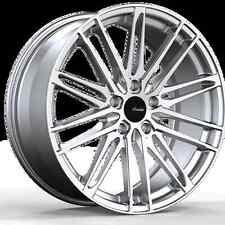 19x8.5 Advanti Racing Diviso 5x112 +35 Silver/Mach Wheels Fits Audi b5 b6 b7 c4