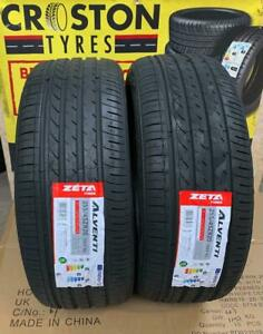 2× 255/45ZR20 XL 105Y ZETA  ALVENTI B/B RATED ENGINEERED IN EUROPE QUALITY TYRES