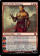 KOTH OF THE HAMMER Scars of Mirrodin MTG Red Planeswalker MYTHIC RARE