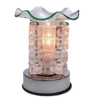 Coo Candles Electric Candle Wax Melt Warmer or Touch Lamp - Diamond