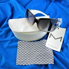 Madonna M by Madonna H & M White Sunglasses New w Tags 2007 Limited