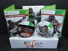 Xbox 360 Games Sniper Ghost Warrior 2, & Sniper Elite V2 Silver Star Edition