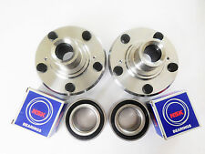 Front Wheel Hub W/ OEM NSK Japanese Bearing Set For HONDA ACCORD /CR-V /ELEMENT