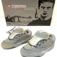 Vintage NOS Osiris TARGA Mathias 2000 Sz 8 Skateboard Shoes ES DC Shortys SD-3