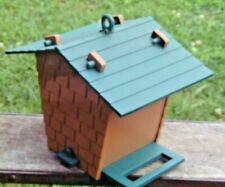 Vintage Tupperware Tuppertoys Bird Watchers Birdhouse Open Or Hole & Feeder