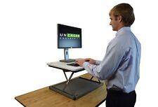 Adjustable height affordable laptop standing desk riser converter conversion