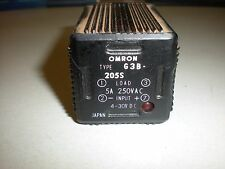 Omron Model G3B-205S Solid State Relay - Octal Pin Layout - Tests OK