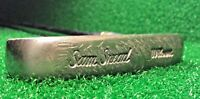 """WILSON SAM SNEAD PUTTER GOLF CLUB VINTAGE LEATHER 2 WAY SS 35"""" RIGHT LEFT HANDED"""