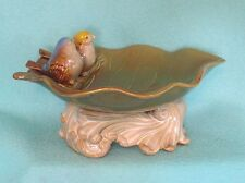 Decorative Birds on Leaf Feeder / Birdbath / Soap Holder