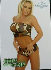 PLAYBOY BENCHWARMER BOOT CAMP BOBBI BALLARD CARD