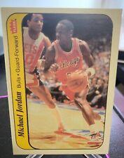 1986-87 Michael Jordan Fleer Rookie Sticker 100% Authentic Great Condition 📈🔥