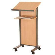 More details for wooden panel front lectern