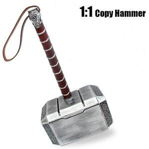 1:1 Full Solid Avengers Thor Hammer Replica Prop PU/Polyurethane Mjolnir Cosplay