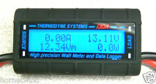 130 Amp Watt  Meter WITH SPECIAL HEAVY 10 AWG WIRE 4 HI/AMPS Solar/Wind Turbines