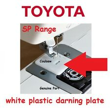 GENUINE TOYOTA MACHINE PLASTIC DARNING PLATE FEED DOG COVER Super SP Eco etc