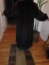 (Weiss) Mahogany Mink Coat (full-length) size 18-20