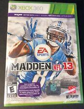 Madden NFL 13 (XBOX 360) NEW