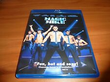 Magic Mike (Blu-ray Disc, 2012) Channing Tatum,Matthew McConaughey Used