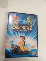 DVD  la sirenita 2  regreso al mar Disney