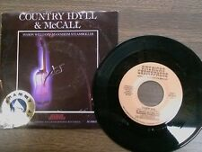 "MASON WILLIAMS 45 RPM ""Country Idyll"" & ""McCall""  w/ orig pic sl VG++"