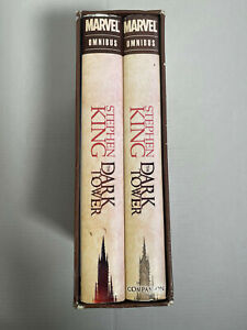 STEPHEN KING  Dark Tower  Marvel Omnibus  2 volumes SLIPCASED