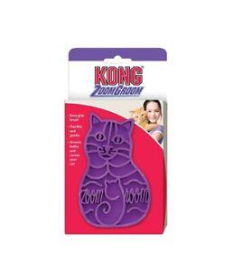 KONG Zoom Groom Rubber Cat Groomer Brush