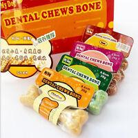 """New Smart Bones 4"""" Dog Dental Chews Bone Natural Large Smart Bones for Dogs"""