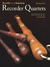 Recorder From The Beginning: Recorder Quartets (Playing Score)