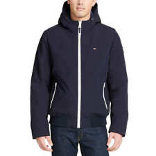 Tommy Hilfiger mens softshell jacket Navy Blue Size L