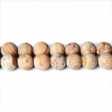 Frosted 10 - 10.9 mm Size Jewellery Making Craft Beads