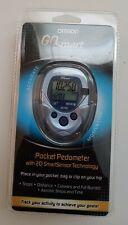 Brand New Omron Go Smart Pocket Pedometer HJ-112  with 2D SmartSensor Technology