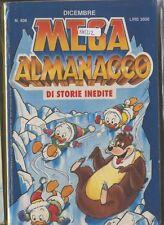 MEGA ALMANACCO dicembre 1990 408 fumetto walt disney