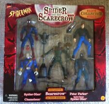 MARVEL SPIDERMAN SPIDER AND THE SCARECROW COLLECTOR EDITION BOX SET TOY BIZ 1998