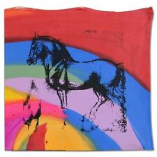 """Gail Rodgers One of Kind Hand-Pulled Silkscreen Acrylic Painting  """"Horse"""""""