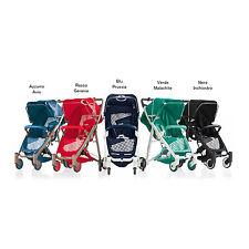 Baby pushchair buggy stroller Crystal 260 azzurro avio Brevi