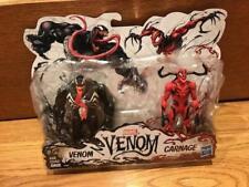 """2018 Marvel Movie Venom & Carnage 6"""" 2 Pack Spider-man Villains 6 inches"""