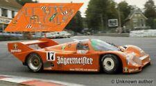 Decals Porsche 962 Spa 1986 17 1:32 1:43 1:24 1:18 962C slot jagermeister calcas