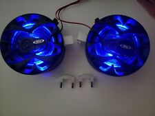 LIGHTED Golf Cart Blue LED Speakers EZ GO Club Car Yamaha Pods Enclosures