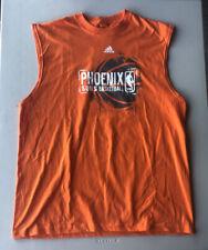 Men's Adidas Phoenix Suns Sleeveless T-Shirt Pre-Owned Size L